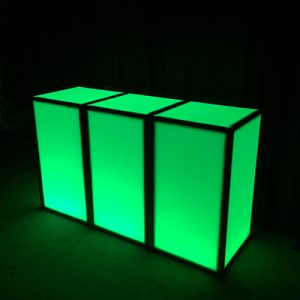 Remote Controlled LED Bar for Rent in Salt Lake and Park City Utah
