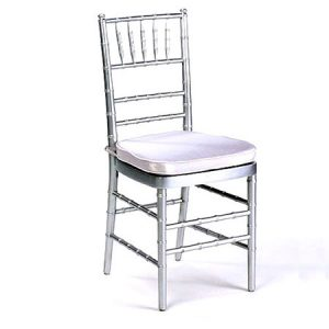 Silver Chiavari Chair for rent in Salt Lake City Utah