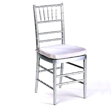 Silver Chiavari Chair for rent in Salt Lake City Utah