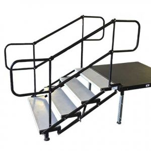 Stage Stairs with Railing for rent in Salt Lake City