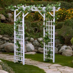 vineyard garden arch