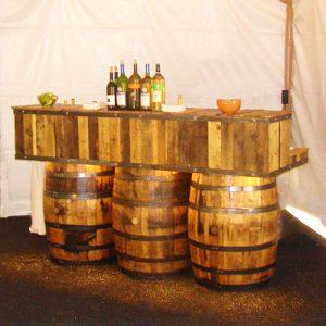 Whiskey Barrel Bar Rental in Salt Lake City, Ut