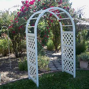White Napa Eden classic Arch for rent in Ogden Utah
