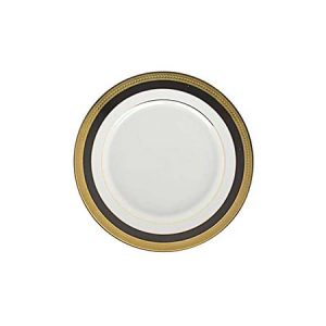 Sahara Black and Gold Bread Butter plate 7 inch for rent in Salt lake city utah