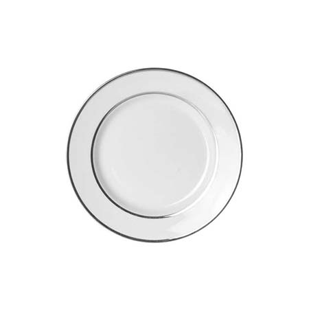 Silver double line bread and butter plate 6.75 inch for rent in Midvale utah