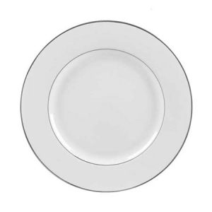 Silver Double line dinner plate 10.75 inch for rent in South Jordan Utah