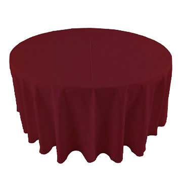 Cardinal Deep Red linen for rent in Layton Utah