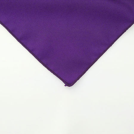 Grape Purple Polyester Napkin for rent in Orem utah