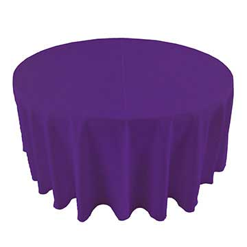 Grape Dark Purple linen for rent in Midvale Utah