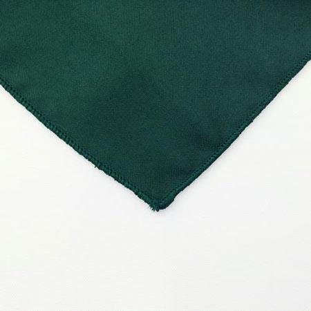 Dark Hunter Green Polyester Napkin for rent in Heber utah