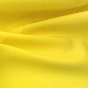 Lemon Yellow Polyester Overlay for rent in Salt Lake City Utah