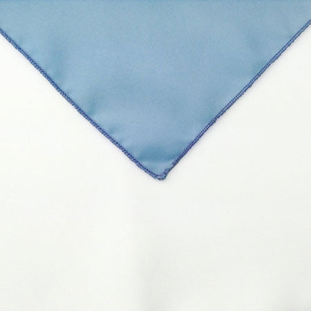 Light pastel Blue Polyester Napkin linen for holiday rental in Ogden utah