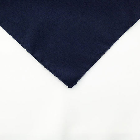 Navy Blue Polyester Napkin Linen for rent in Ogden utah
