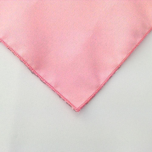 Pink Polyester Napkin Linen for rent in Ogden Utah