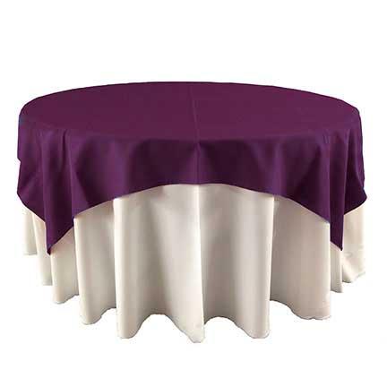 Dark plum Purple overlay for rent in IDaho