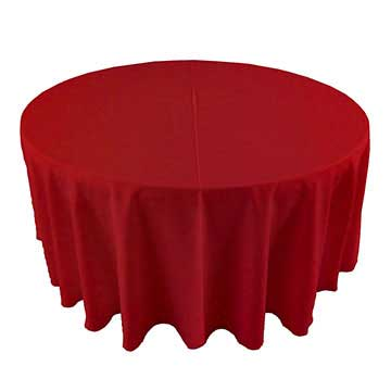 Deep Turkey Red linen rental in North Salt lake utah