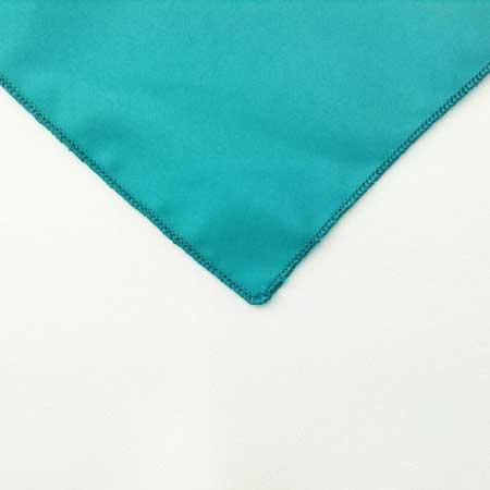 Turquoise Polyester Napkin Linen for rent in Ogden