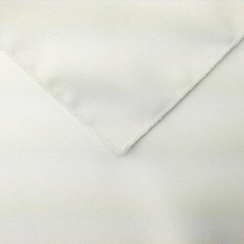 White Polyester Napkin linen for rent in Sandy Utah
