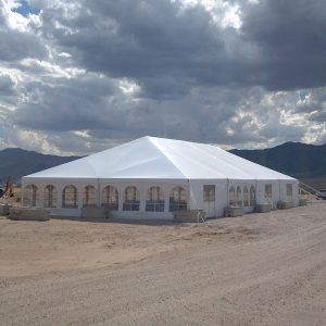 40' x 80' Tent Canopy for rental in Northern Utah