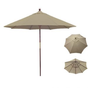 Beige Umbrella for Rent in Provo Utah