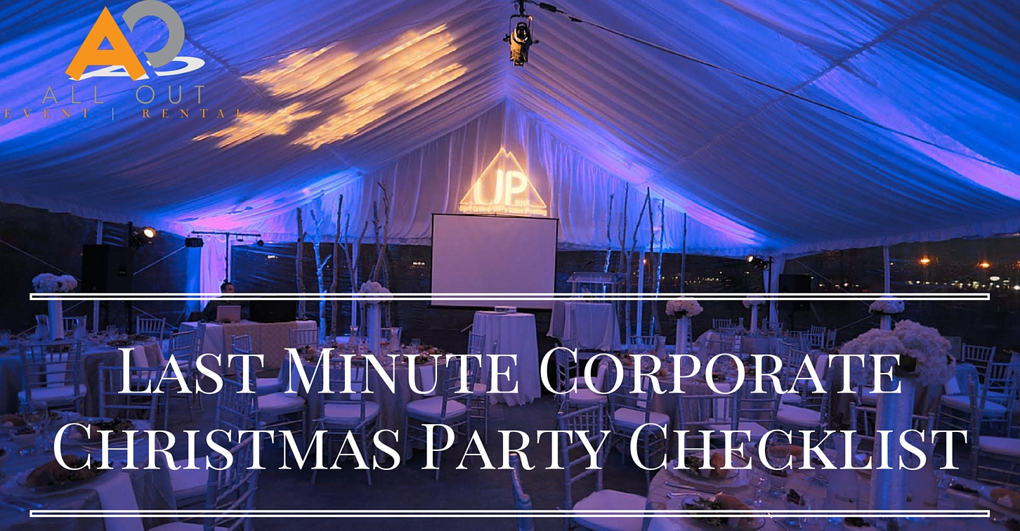 Last Minute Corporate Christmas Party Checklist (1)