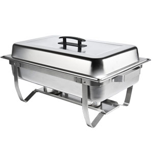 Stainless Steel Chafer 8 Quart for Rent in Salt Lake City Ut