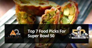 top foods for super bowl