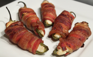 baconwrapped poppers