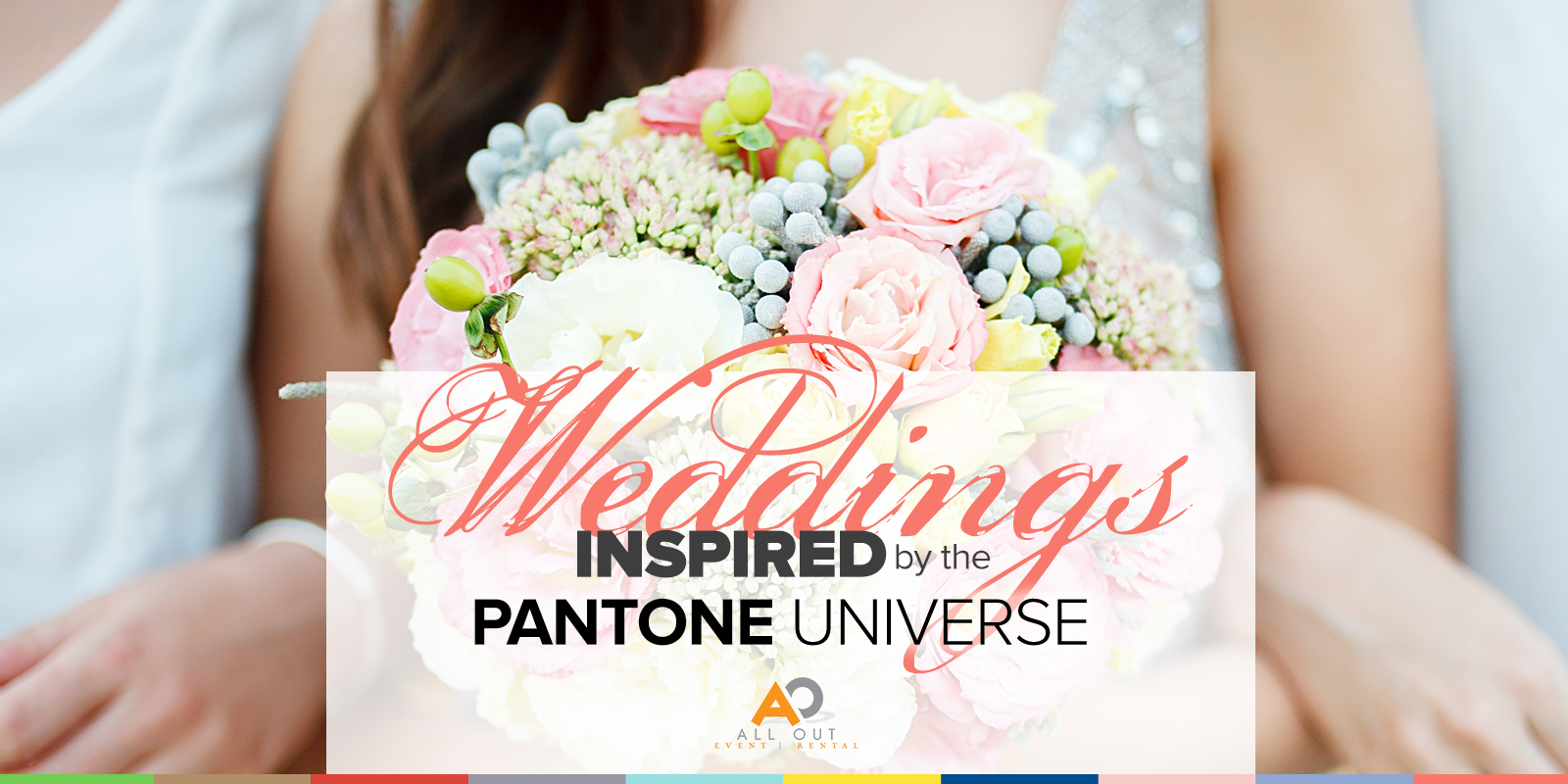 weddings inspired by pantone