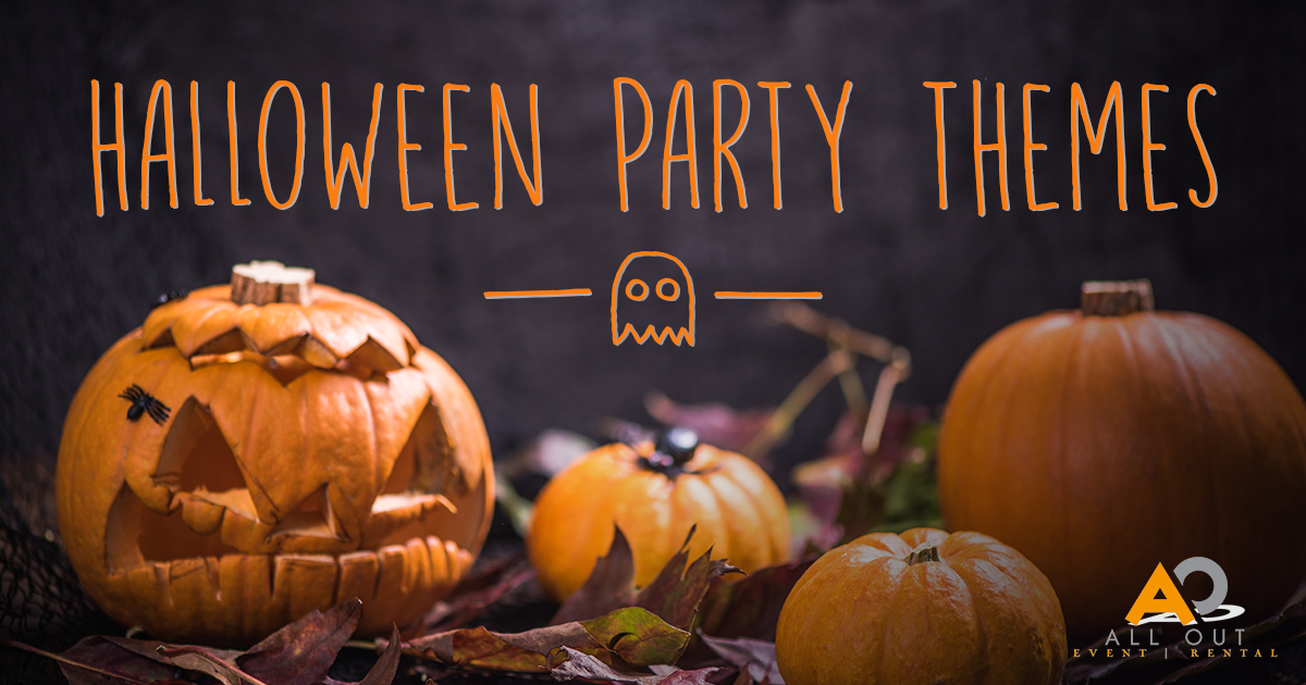 Halloween pumpkin graphic theme party