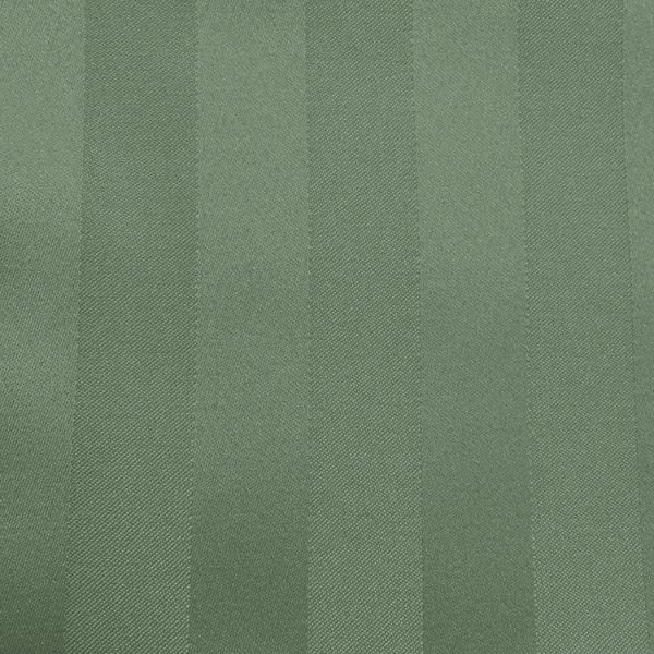 Swatch Poly Stripe Army Green Linen