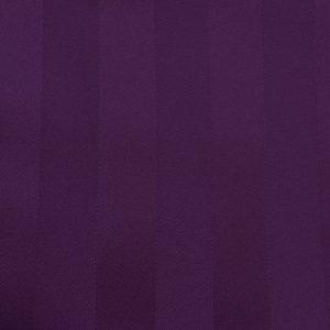 Swatch Poly Stripe Aubergine Linen