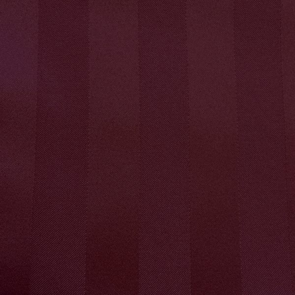 Swatch Poly Stripe Burgundy Linen