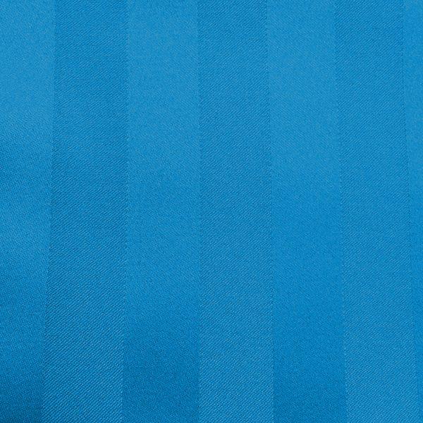 Swatch Poly Stripe Cobalt Linen