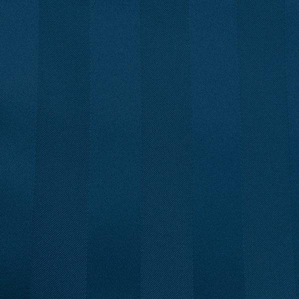 Poly Stripe Navy Linen Swatch