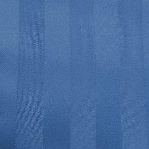 Poly Stripe Periwinkle Linen Swatch