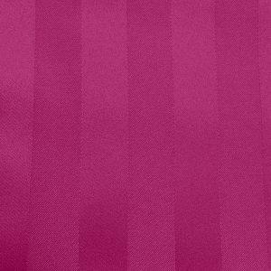 Poly Stripe Raspberry Linen Swatch