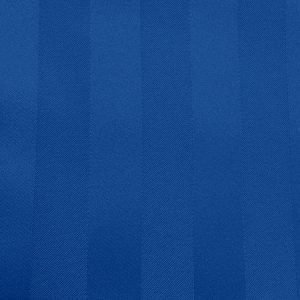 Poly Stripe Royal Linen Swatch