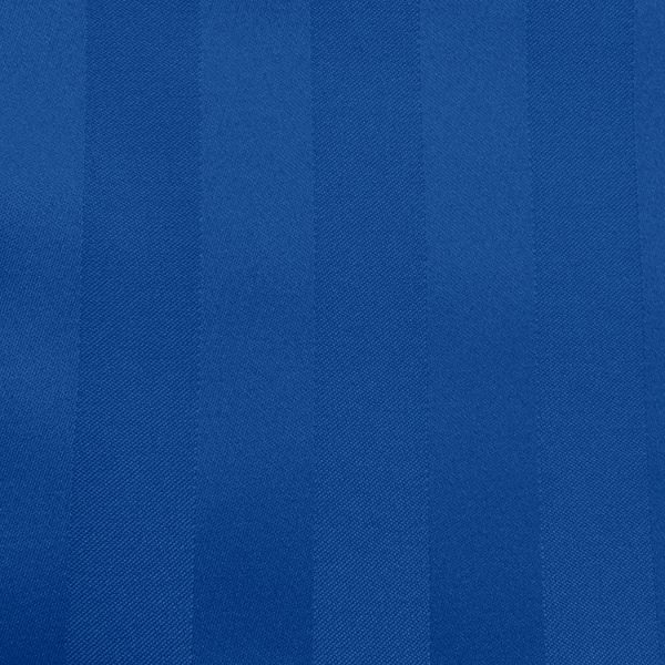 Poly Stripe Royal Linen Swatch