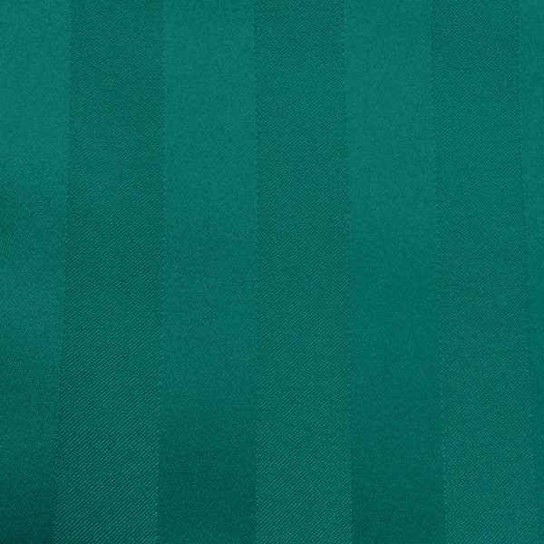Poly Stripe Teal Linen Swatch