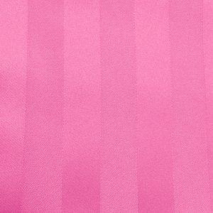 Poly Stripe Watermelon Linen Swatch