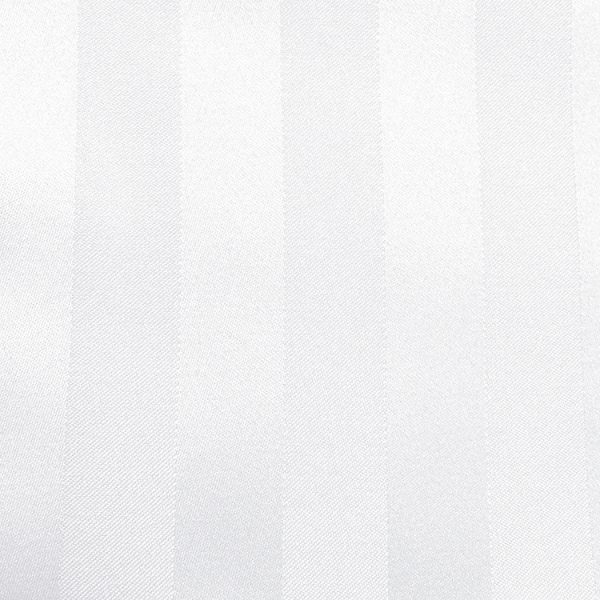 Poly Stripe White Linen Swatch