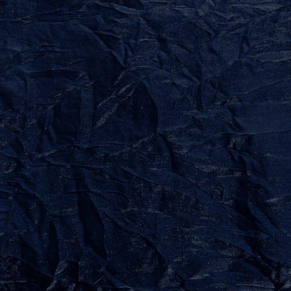 Poly Shalimar Cobalt Rayon Linen Swatch