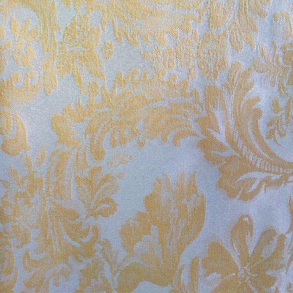 Polyester Gold Champagne Miranda Linen Swatch