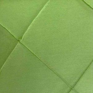 Polyester Green Apple Pintuck Linen for rent in Salt Lake City Utah