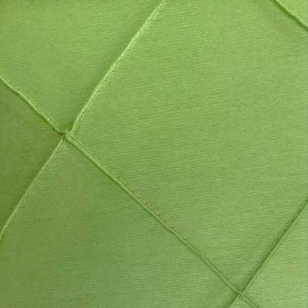 Polyester Green Apple Pintuck Linen for rent in Salt Lake City Utah