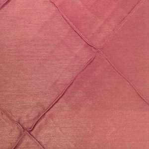 Polyester Candy Pink Pintuck Linen for rent in Salt Lake City Utah