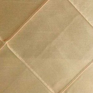 Nova Champagne Pintuck Linen for rent in Salt Lake City Utah