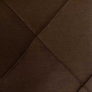 Nova Chocolate Pintuck Linen for rent in Salt Lake City Utah