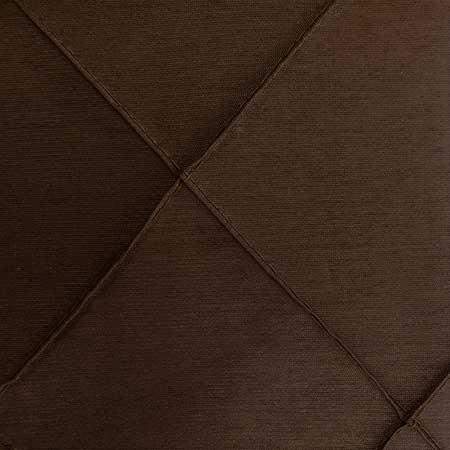 Nova Chocolate Pintuck Linen for rent in Salt Lake City Utah